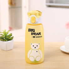 Load image into Gallery viewer, Yellow Big Bear Water Bottle-LaViemate