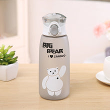 Load image into Gallery viewer, Grey Big Bear Water Bottle-LaViemate