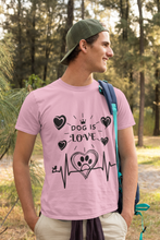 Load image into Gallery viewer, dog graphic and letter tee - LaViemate