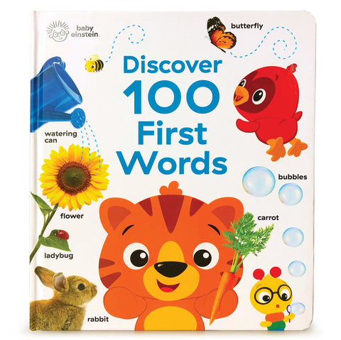 Discover 100 first words book