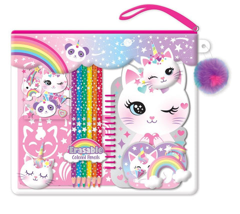 Color me notebook caticorn