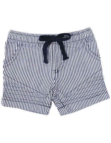 Camper van denim short (Stripes)*