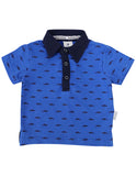 Shark Polo (Blue & Navy)