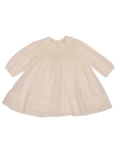 Precious Pieces Smocked Voile Dress