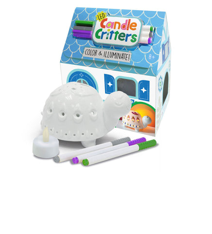 Led Candle Critter-Turtle