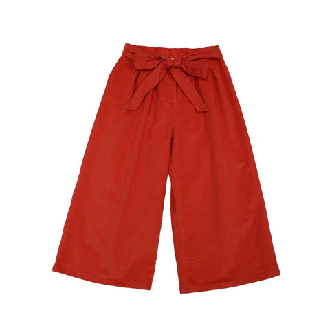Pantalon Rojo High waisted
