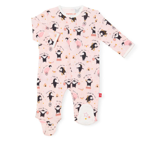Just like mommy magnetic footie & coverall