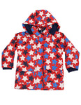 Stars Raincoat (Green & Red)