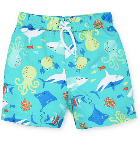 Sea Creature Swim Trunk + Rashguard