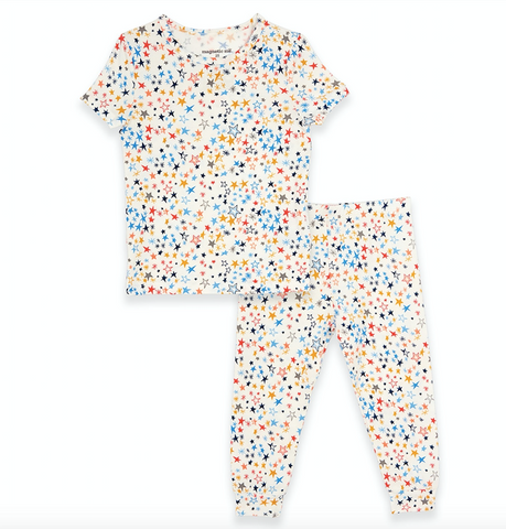 Starburst modal magnetic 2 pc toddler pjs