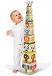 Family Portraits Sq Stacking Pyramid