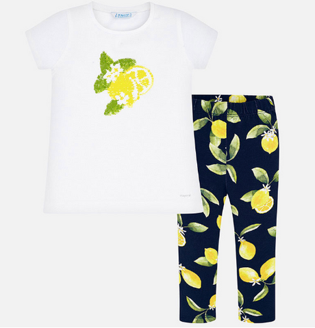 Conj. Leggings Limones