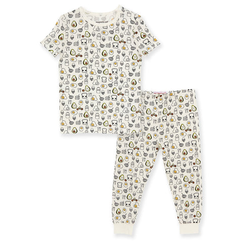 Brunch bunch magnetic 2 piece pjs