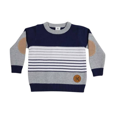 Stripes Knit Sweater (Multiple Colors)