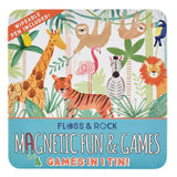 Magnet Game- 4 in 1 (Jungle)
