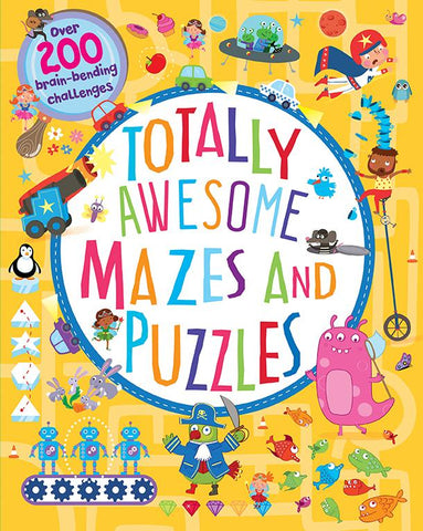 Totally Awesome Mazes & Puzzles