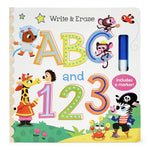 Write and Erase ABC and 123
