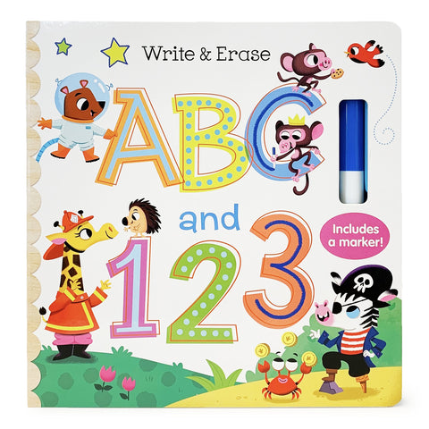 Write & Erase ABC 123