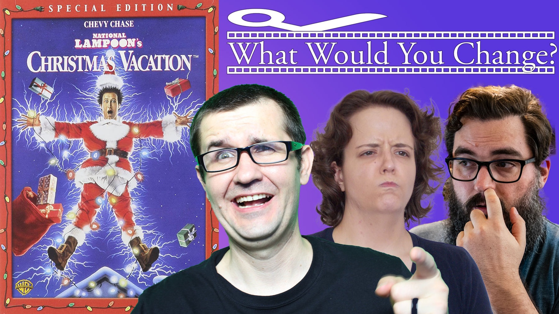National Lampoon's Christmas Vacation | 1989 | What Would You Change? | Movie Podcast