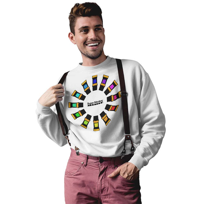 Arcade Wheel Men's Sweatshirt
