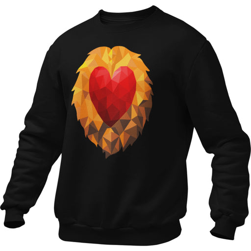 Heart of a Lion Men's Sweatshirt