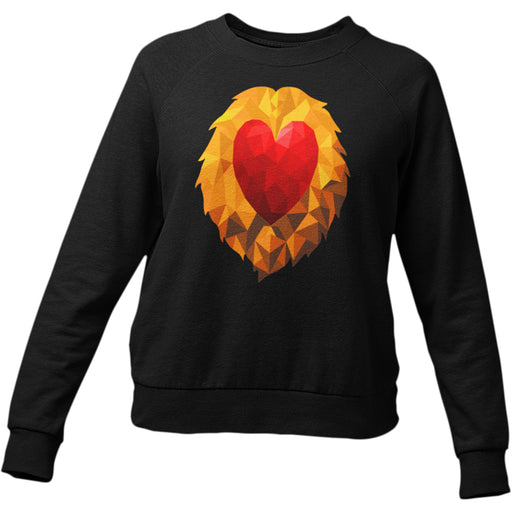 Heart of a Lion Women's Sweatshirt