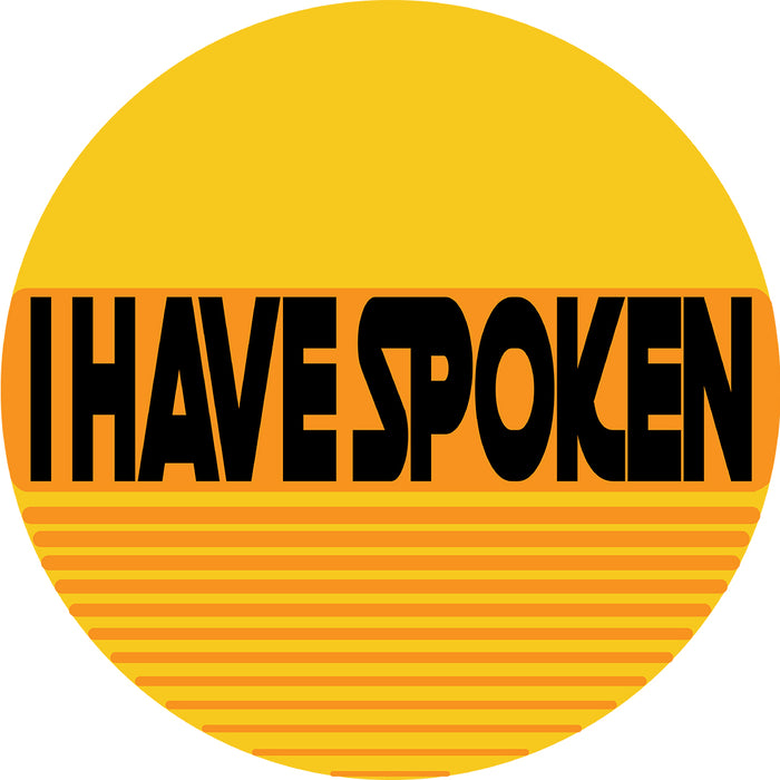 I Have Spoken Pocket Men's Tri-Blend T-Shirt