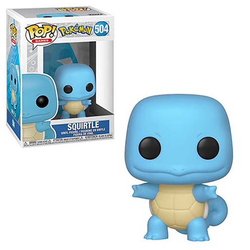 Pokemon Squirtle Funko Pop! Vinyl Figure With Vinyl Protector Case