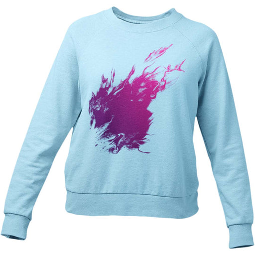 Purple Flame Women's Sweatshirt