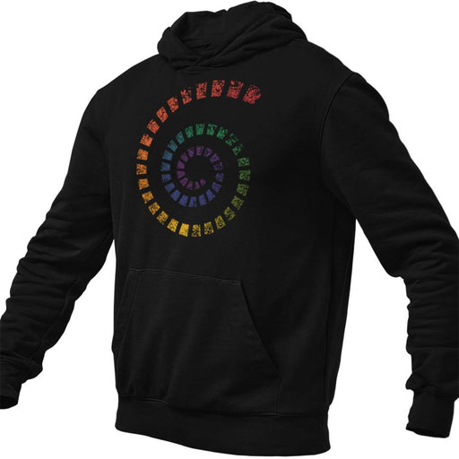 Spiral of Love Men's Hoodie