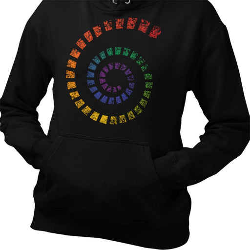 Spiral of Love Women's Hoodie
