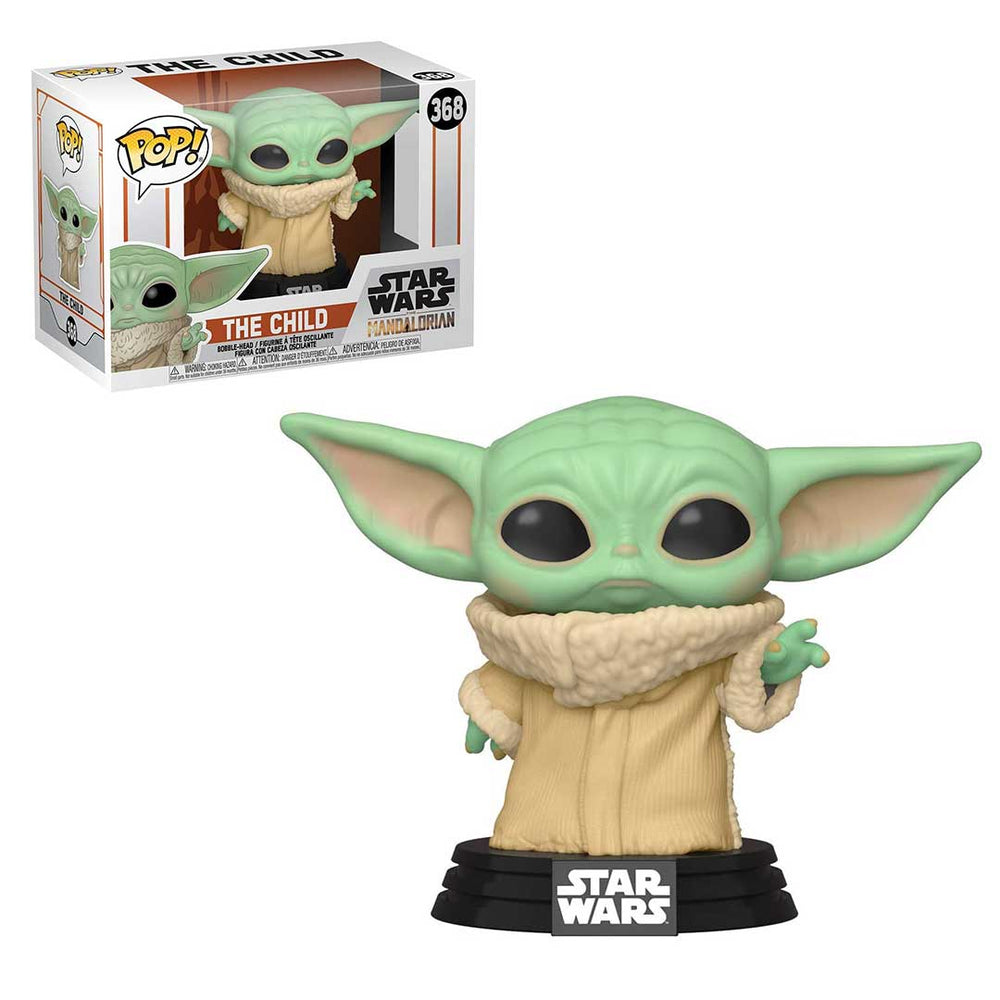 Baby Yoda! Star Wars: The Mandalorian The Child Pop! Vinyl Figure
