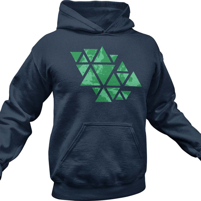 Triangle of the Cloud Men's Hoodie