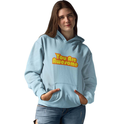You Are Awesome Orange Edition Women's Hoodie