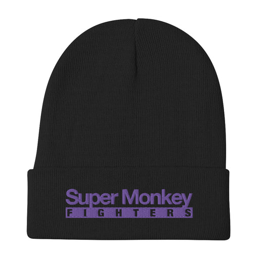 Purple Monkey Beanie