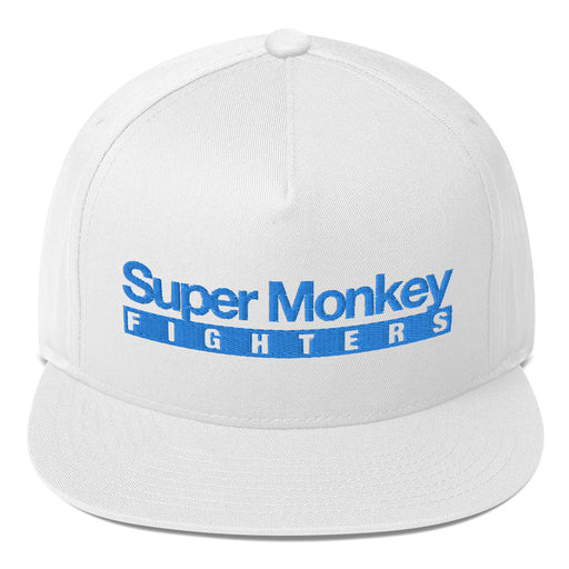 Blue Monkey Flat Bill Hat