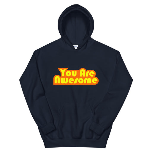 You Are Awesome Orange Edition Men's Hoodie