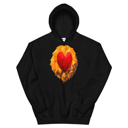 Heart of a Lion Women's Hoodie