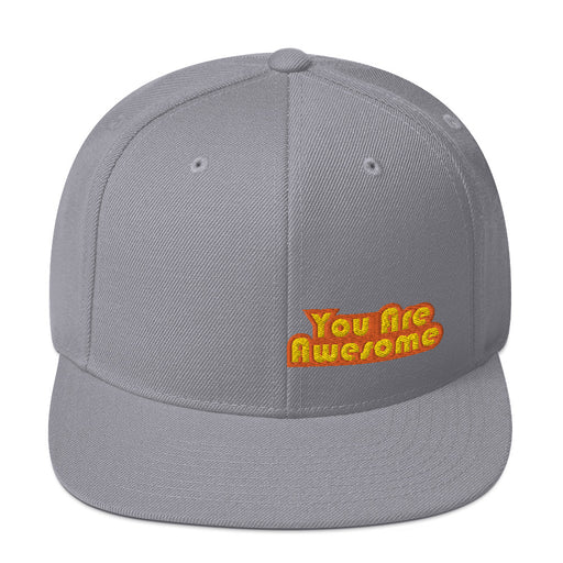 You Are Awesome Orange Edition Snapback Hat