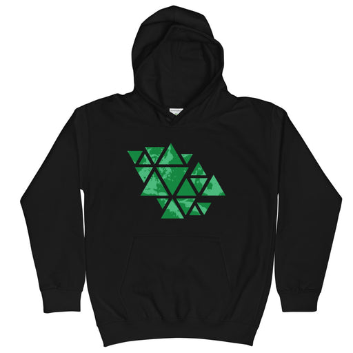 Triangle of the Cloud Kid's Hoodie