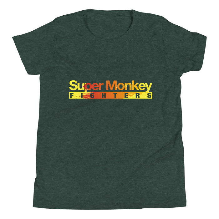Orange Flaming Monkey Youth's Premium T-Shirt