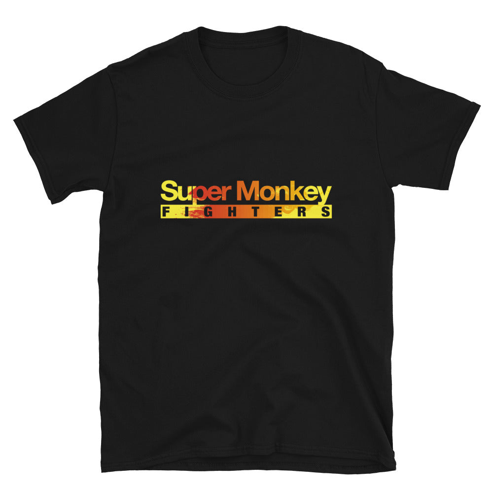 Orange Flaming Monkey Men's Premium T-Shirt