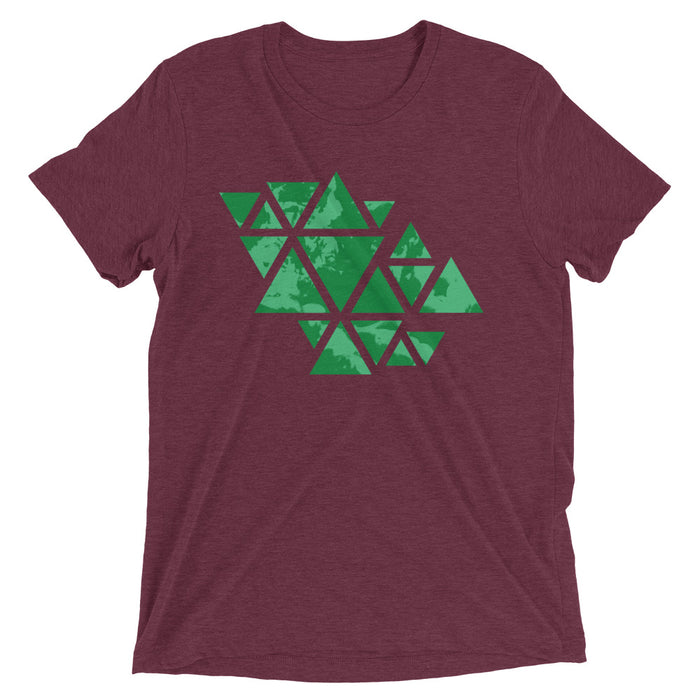 Triangle of the Cloud Men's Tri-Blend T-Shirt
