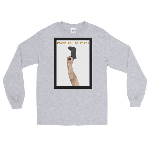Power to the Pixel Men's Long Sleeve Shirt