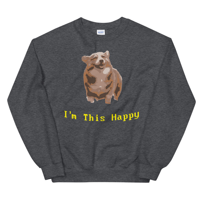 This Happy Men's Sweatshirt