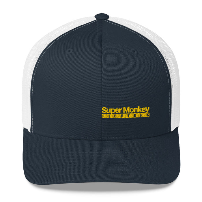Yellow Monkey Trucker Hat