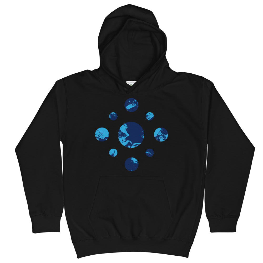 Circle of the Liquid Kid's Hoodie