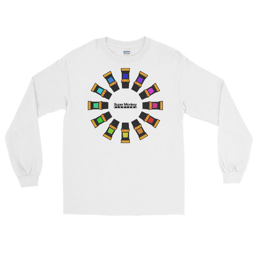 Arcade Wheel Men's Long Sleeve Shirt