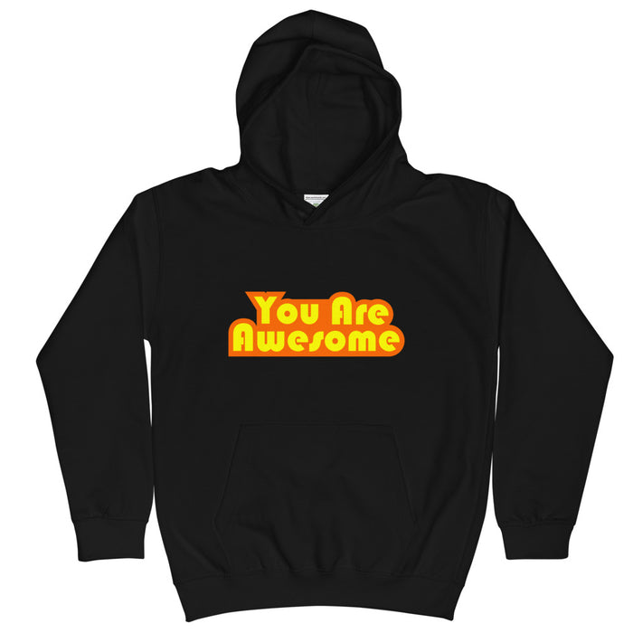 You Are Awesome Orange Edition Kid's Hoodie