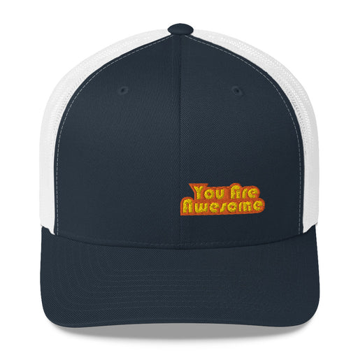 You Are Awesome Orange Edition Trucker Hat